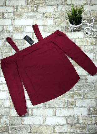 Яркая блуза стильная с вырезами на плечах, топ свободный открытые плечи1 фото