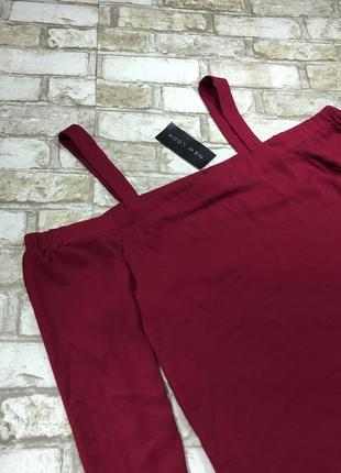 Яркая блуза стильная с вырезами на плечах, топ свободный открытые плечи3 фото