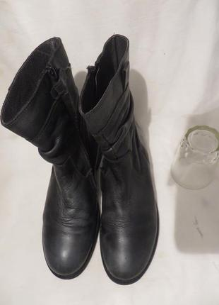 Ботинки кожа 38,5-39 размер2