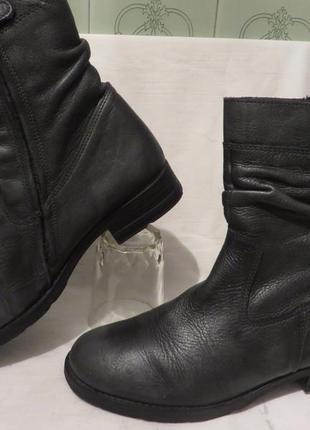 Ботинки кожа 38,5-39 размер3