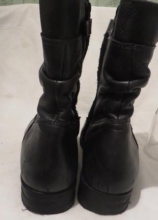 Ботинки кожа 38,5-39 размер4