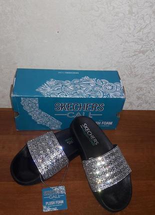 Skechers женские шлепанцы, оригинал2