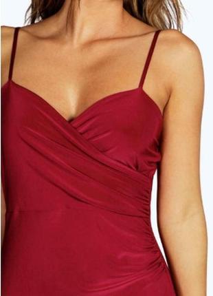 Платье нарядное вечернее на новый год мини по фигуре от boohoo3