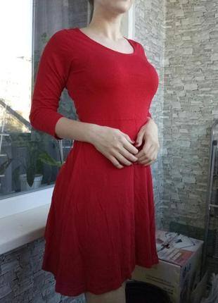 Платье однотонное1