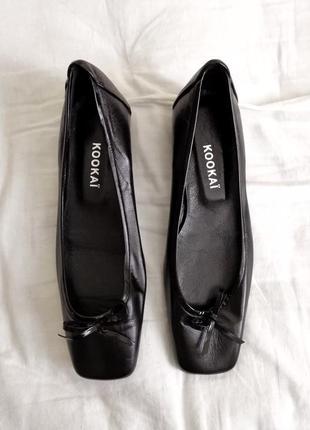 Кожаные туфли kookai