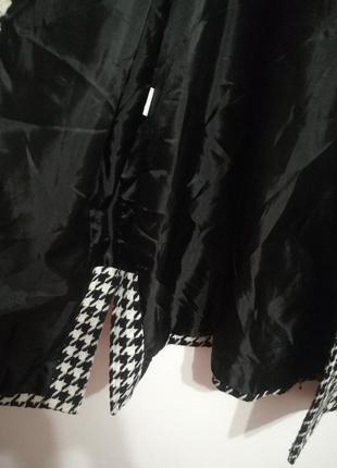 Шерстяной жакет пальто, принт гусиная лапка, премиум бренд jaclyn smith, xxxl4 фото