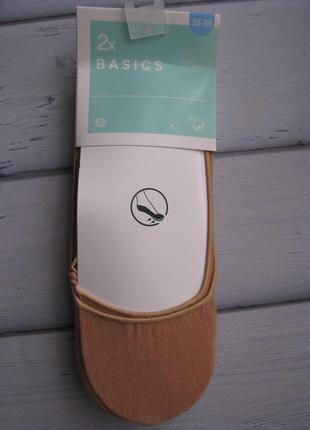 Хлопковые следочки с антистрессовой подушечкой на ступне2 фото
