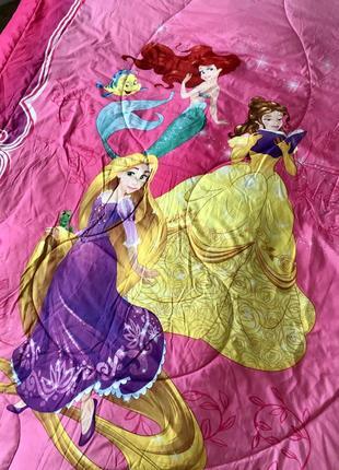 Большое двустороннее одеяло- покрывало disney. usa. оригинал.