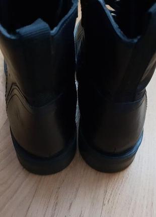 Натуральные фирменные ботинки на флисе 39р./25,5 см4