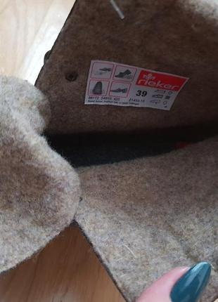 Новые фирменные утепленные шерстью ботинки 39р./26 см3 фото