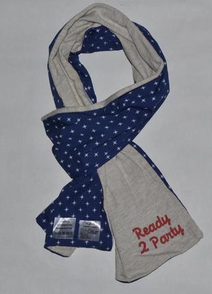 Двухсторонний шарф с надписью от jbc
