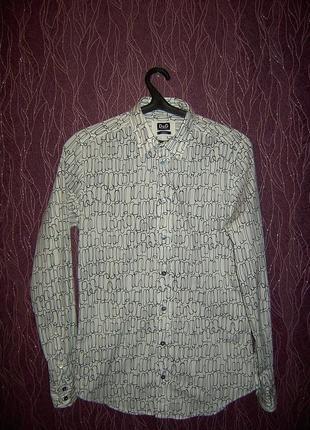 Рубашка dolce&gabbana разм.м