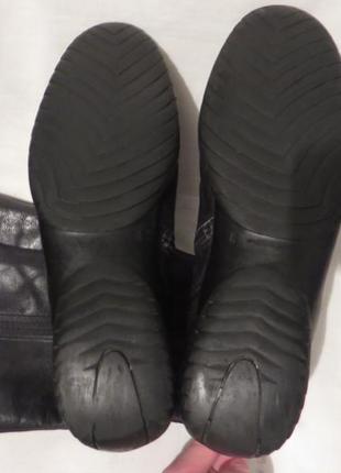 Сапоги кожа голландия durea 39,5 размер5 фото