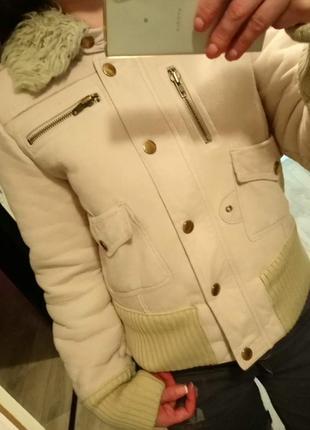 Дубленка куртка курточка шуба зимняя осенняя