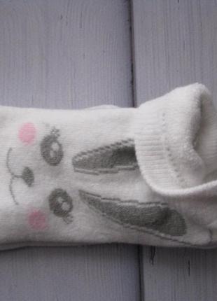 Махровые носки зайка 35-38,39-424