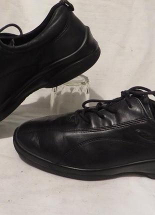 Ботинки туфли кожа ecco 40 размер1 фото