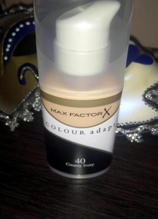 Лёгкий и нежный max factor colour adapt