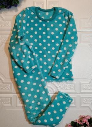 Махровая плюшевая пижама, костюм с брюками, xxs/xs