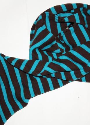 Классный котоновый двойной шарф ф.h&m в отличном состоянии