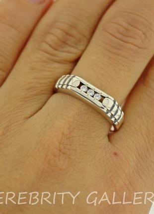 10% скидка - подписчикам! перстень серебряный размер 21. br 2111524 w 21