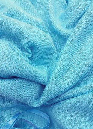 Шикарный джемпер очень красивого цвета aqua джемпер который покорит ваше ❤3 фото