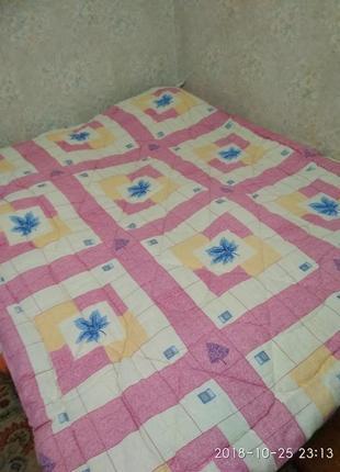 Одеяло двуспальное из овечьей шерсти