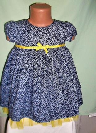 Пышное платье maggie&zoe 1-2годика рост 92