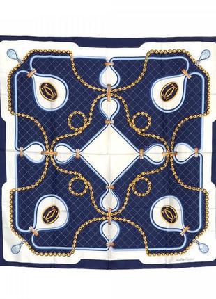Шелковый платок шарф   les must de cartier