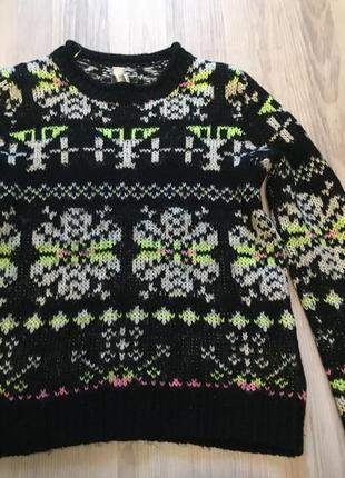 Теплый свитер pull&bear