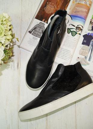 Northstar. кожа. крутые ботинки высокого качества1