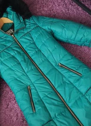 Куртка пуховик р 46