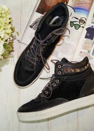 Northstar. кожа. крутые ботинки, высокие кеды, хайтопы