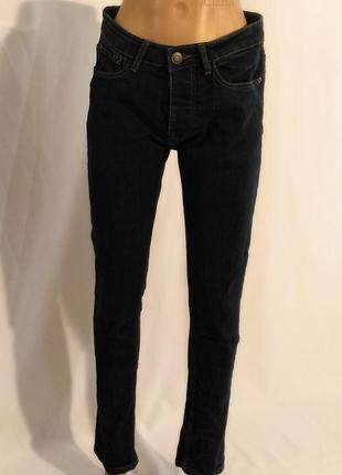 2433/110 плотные синие джинсы denim&co m