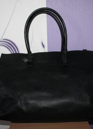 Шикарная крутая большая кожаная сумка balenciaga номер италия2 фото