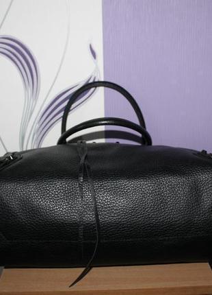 Шикарная крутая большая кожаная сумка balenciaga номер италия4 фото