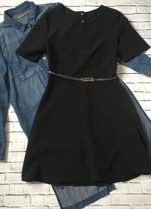 Плаття з оригінальною спинкою+пояс у 🎁