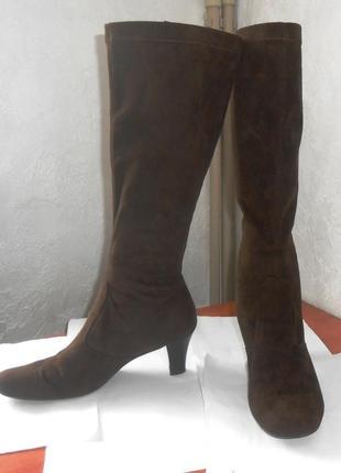 Распродажа! стильные фирменные сапоги чулки gabor, р.42, код v4203