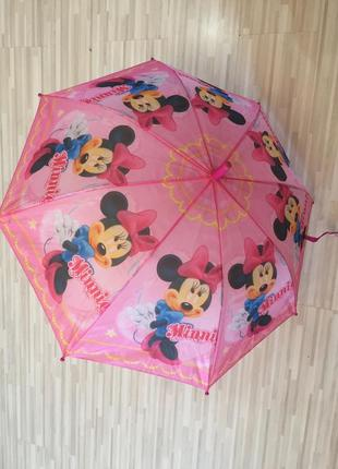 Детский зонт minnie