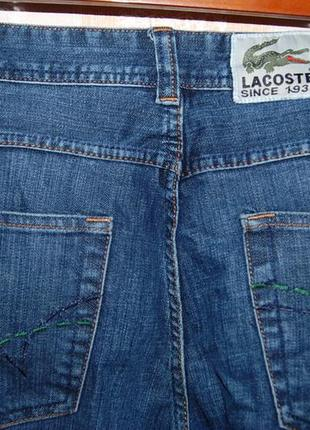 Джинсы женские lacoste,  на 50 р-р (size 32)