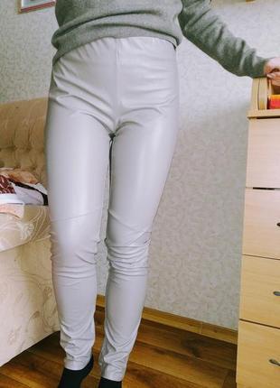 Штаны, брюки из кож зама