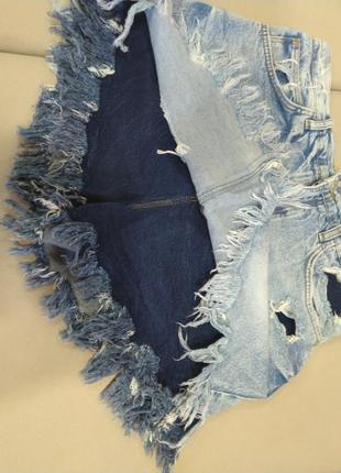 Шикарные юбка шорты л
