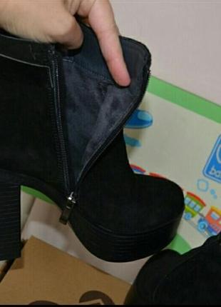 Очень удобные ботинки,натуральная замша,обуты на пару часов