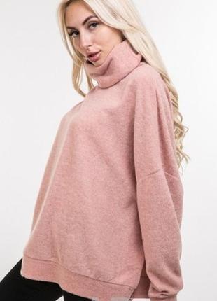 Нежный свободный уютный свитер вільний затишний светр кофта оверсайз oversize цвета ангора