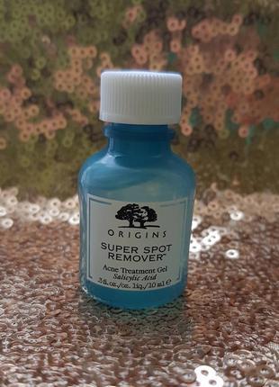 Полноразмер!  гель для лечения акне origins super spot remover