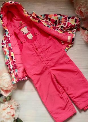 Зимний костюм комбинезон полукомбинезон куртка2