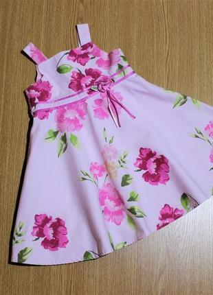 Нарядное красивое платье для девочки