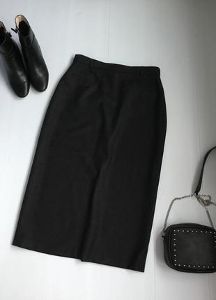 Длинная тёплая юбка шерсть
