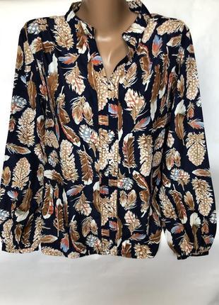 Рубашка в перьях