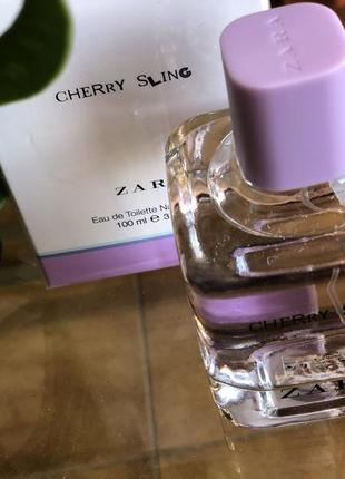 Духи zara cherry sling/ парфюм/туалетная вода / туалетная вода