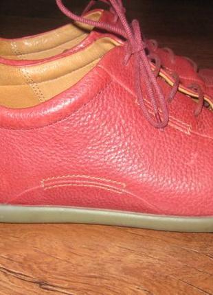 Туфли ecco р.39 стелька 25 см, натуральная кожа
